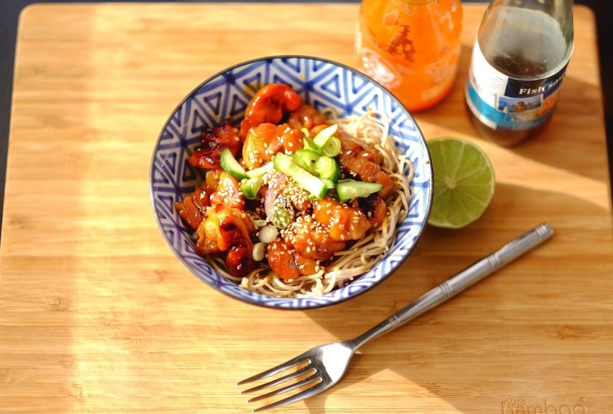 🇬🇧 Spicy Vietnamese Caramel Chicken 🇫🇷